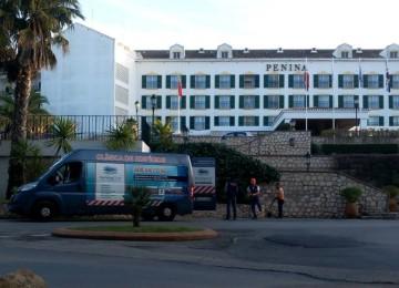 Projetos de Desentupimentos - Hotel Penina | Clínica de Edifícios